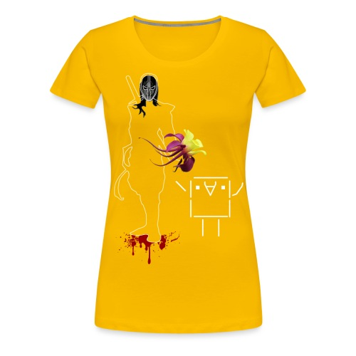 friendly_ninja - Frauen Premium T-Shirt