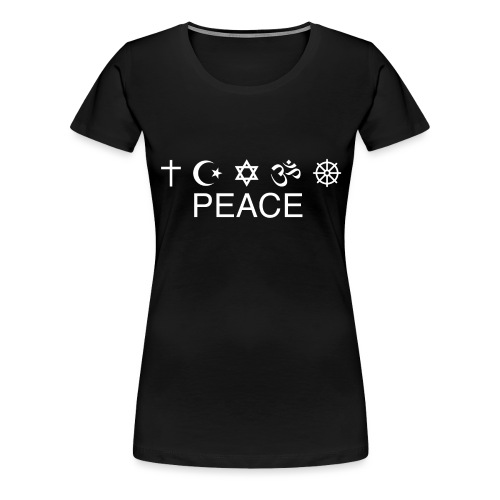 PEACE - T SHIRT - Frauen Premium T-Shirt