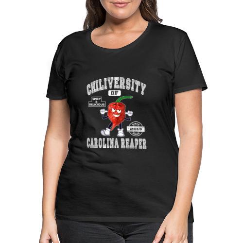 Chiliversity of Carolina Reaper - Hot & Spicy - Frauen Premium T-Shirt