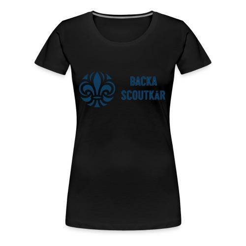 Backa Scoutkår - Premium-T-shirt dam