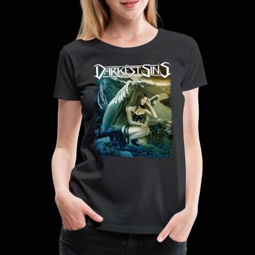 Darkest Sins Angel - Women's Premium T-Shirt