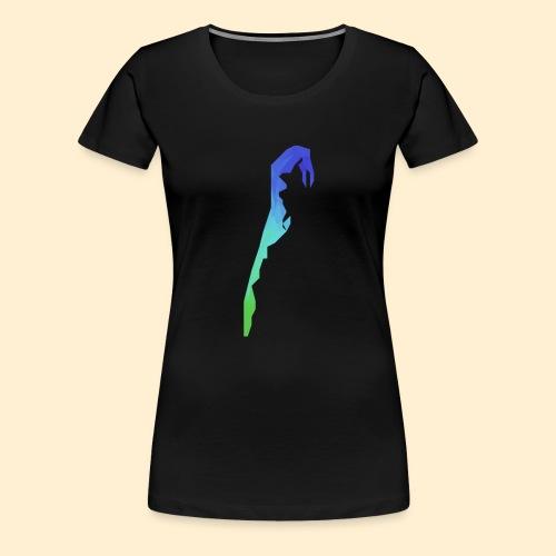 Hiddensee Triangle - Frauen Premium T-Shirt