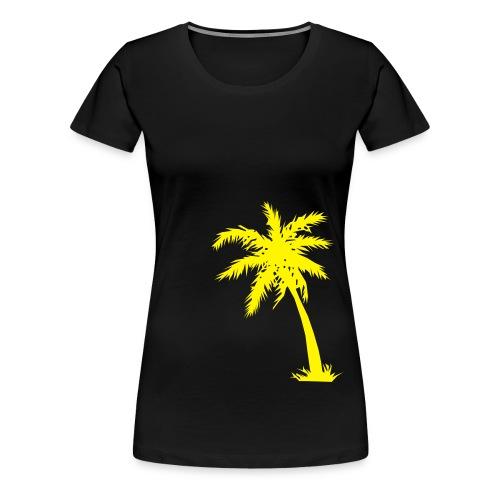 Palme Kokusnuss - Frauen Premium T-Shirt
