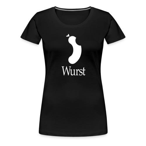 wurst white - Women's Premium T-Shirt