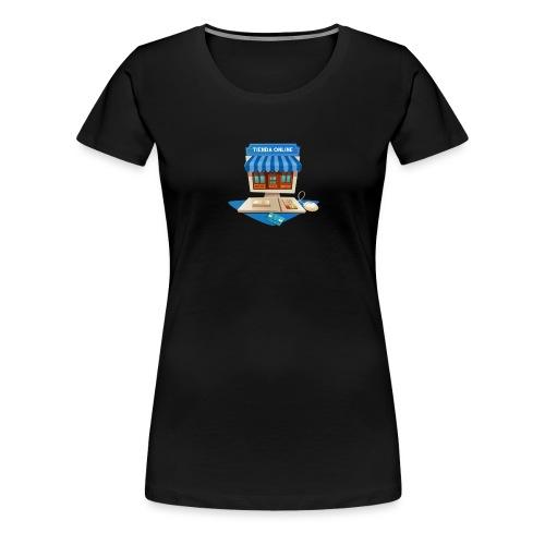 desarrollo-tienda-online-virtual - Camiseta premium mujer