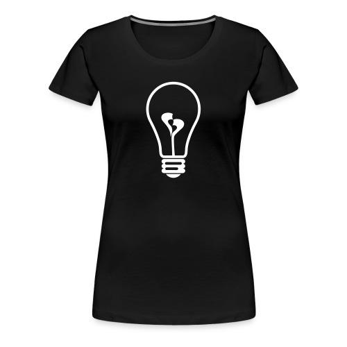 gluehbirne - Frauen Premium T-Shirt