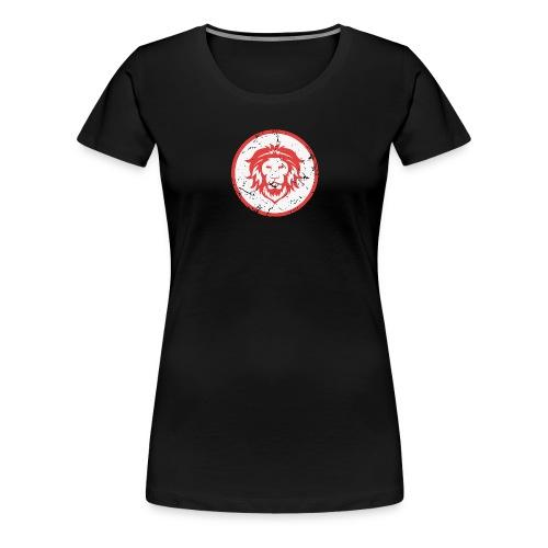 Löwe Vintage Symbol - Frauen Premium T-Shirt