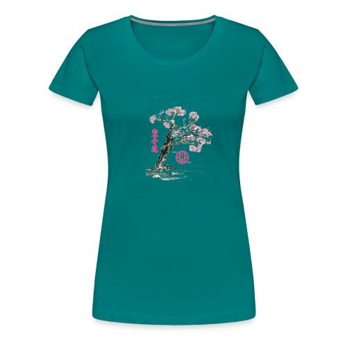cerisier japonais2 gif - T-shirt Premium Femme