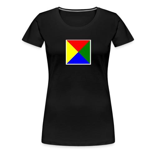 Bilde passord jpg - Premium T-skjorte for kvinner