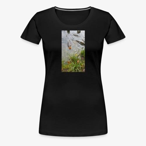 Fisk - Premium-T-shirt dam