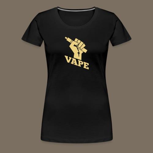 Vape Faust - Frauen Premium T-Shirt