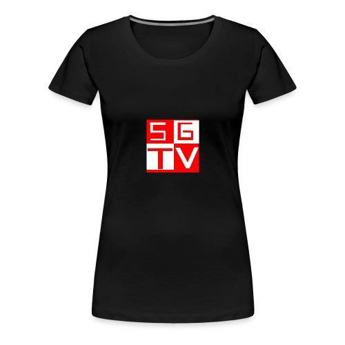 SGTV - Women's Premium T-Shirt