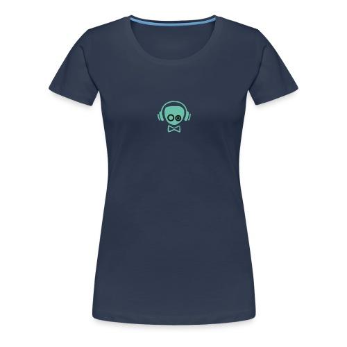 Gamer Design - Dame premium T-shirt