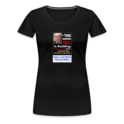 Trumped - Women's Premium T-Shirt