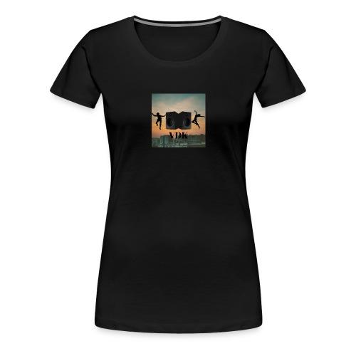 VDK dans klubbens logga - Premium-T-shirt dam