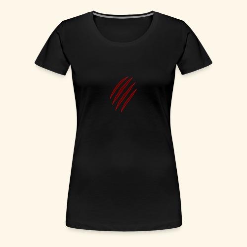 garras - Camiseta premium mujer