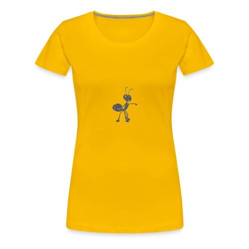 Mier wijzen - Vrouwen Premium T-shirt