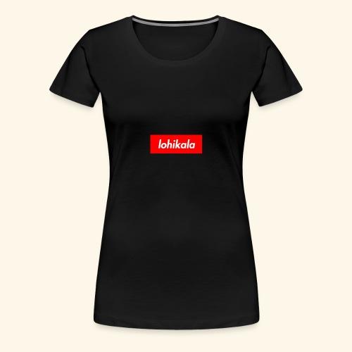 Lohikala - Naisten premium t-paita