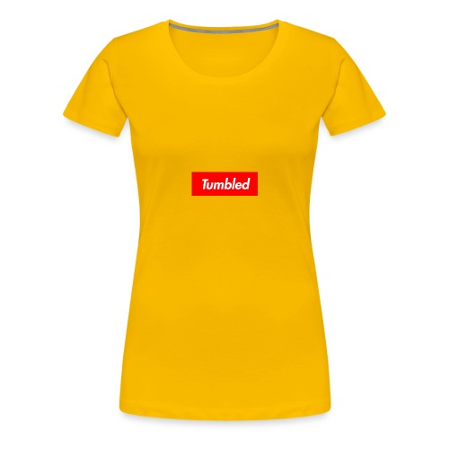 Tumbled Official - Women's Premium T-Shirt
