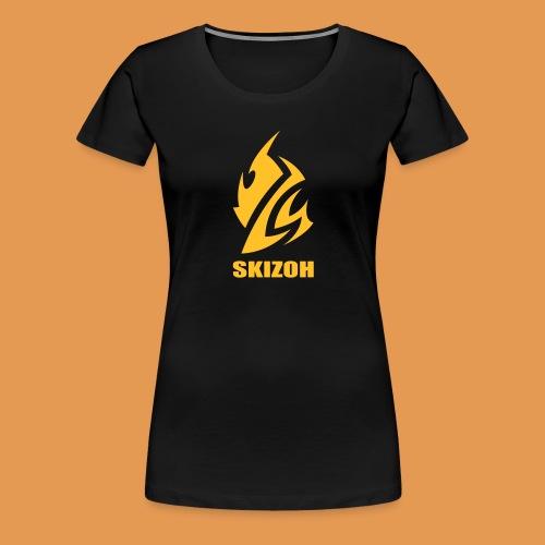 SKIZOH (Casquette) - T-shirt Premium Femme