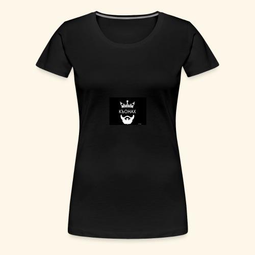 chech king - Premium T-skjorte for kvinner