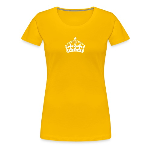 Crown Zoeliakie weiss png - Frauen Premium T-Shirt