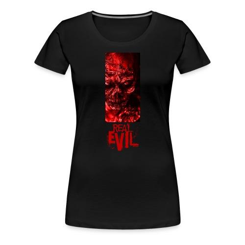 real evil - Frauen Premium T-Shirt