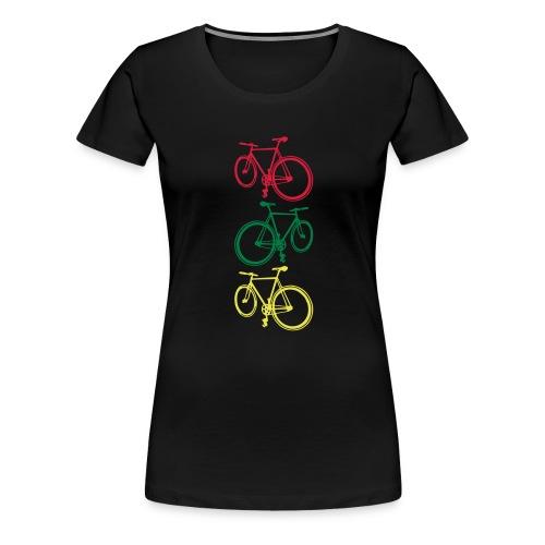 Fixie - Frauen Premium T-Shirt