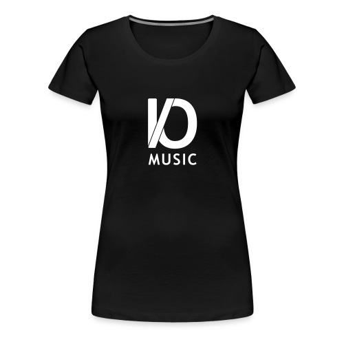 iomusic_white - Women's Premium T-Shirt