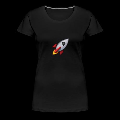 cohete - Camiseta premium mujer