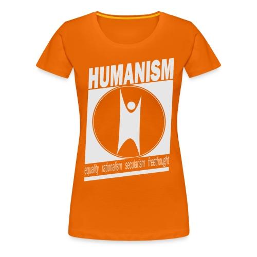 Humanism - Women's Premium T-Shirt
