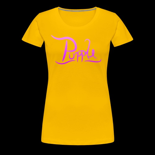 PurpleDesigns - Women's Premium T-Shirt