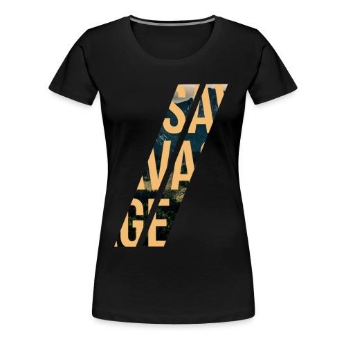 //Savage - Maglietta Premium da donna