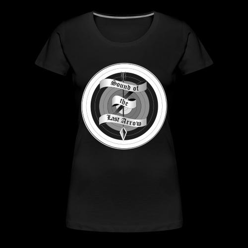 sola mitzielscheibe quadratisch png - Frauen Premium T-Shirt