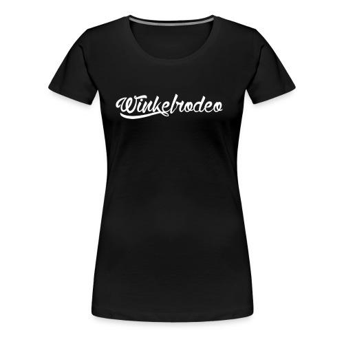 Winkelrodeo Schriftzug - Frauen Premium T-Shirt