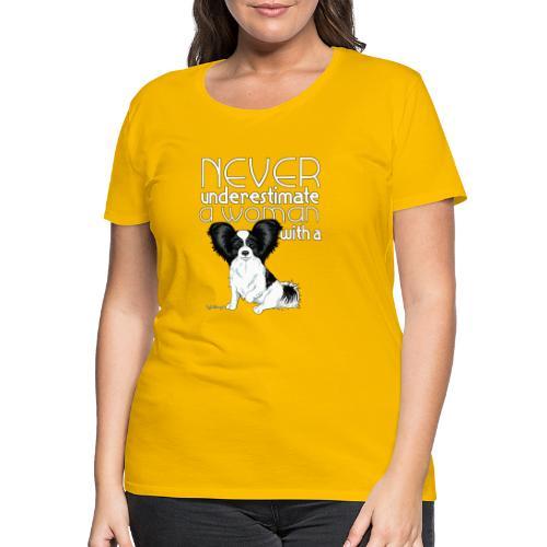 papiunderestimate3 - Naisten premium t-paita