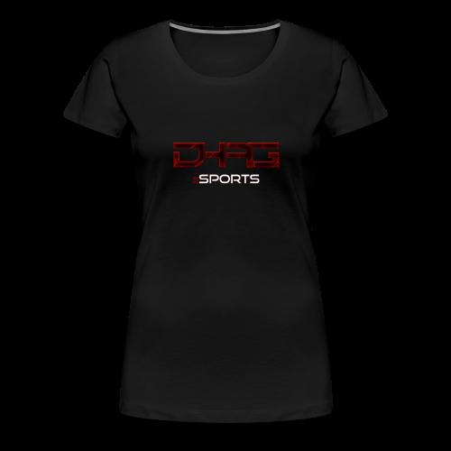 T-Shirt Frauen DHAG Logo - Frauen Premium T-Shirt