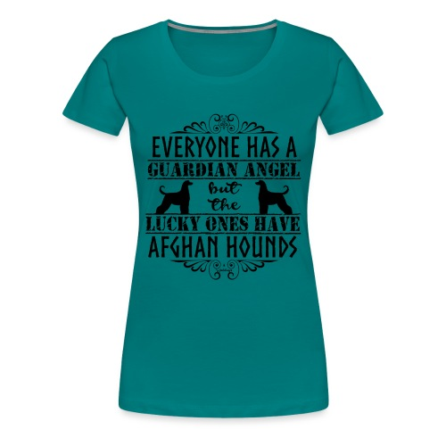 Afghan Hound Angels - Women's Premium T-Shirt
