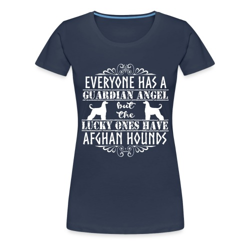 Afghan Hound Angels 2 - Women's Premium T-Shirt