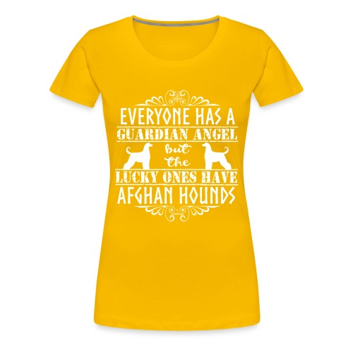 Afghan Hound Angels 2 - Women's Premium T-Shirt