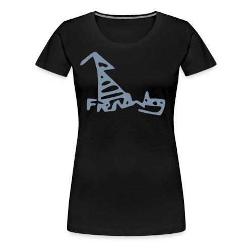 French Dog - Women's Premium T-Shirt