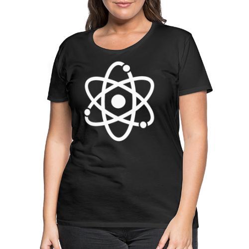 Atommodell - Frauen Premium T-Shirt