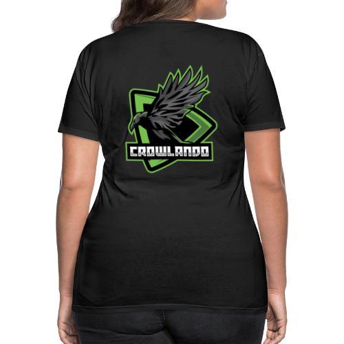 Crowlando design + Logo - Women's Premium T-Shirt
