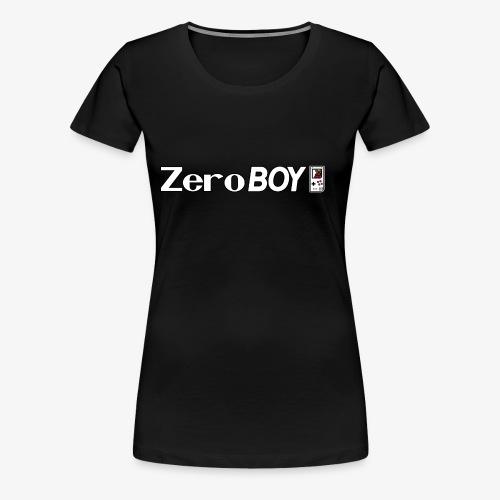 ZeroBOY mit Logo - Frauen Premium T-Shirt