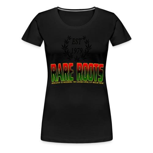 RARE ROOTS MANTRA - Women's Premium T-Shirt