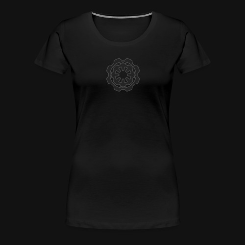 DarkerImage Black on Black (LIMITED) - Women's Premium T-Shirt