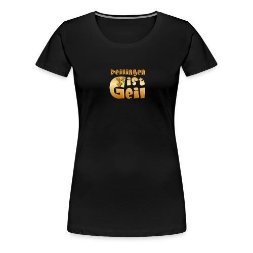 Reilingen ist geil - Frauen Premium T-Shirt