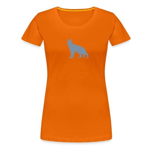saksanpaimenkoira - Naisten premium t-paita