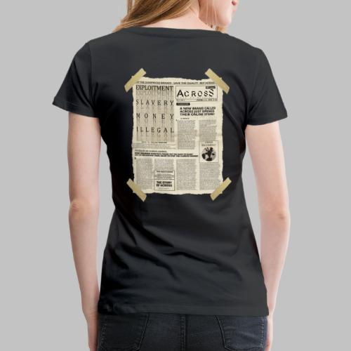 Breaking News! - Women's Premium T-Shirt