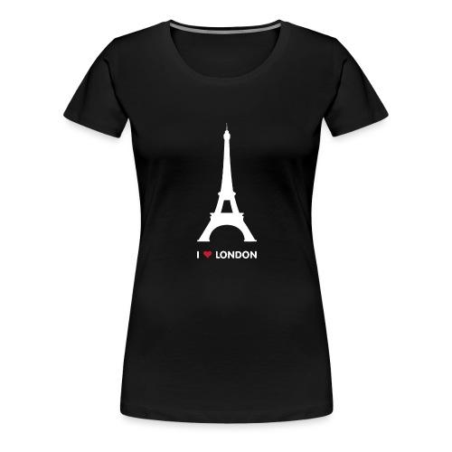 I love London - Vrouwen Premium T-shirt